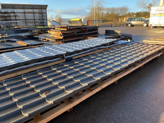 Dachpfannenplatten