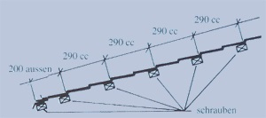 biberschwanzplatten montieren montageanleitung. Black Bedroom Furniture Sets. Home Design Ideas