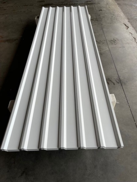 MTP 19 / 155 / 0,4mm - RAL 9002