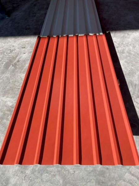MTP 19 / 155 / 0,5 mm RAL 8012